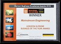 Award winning engineers