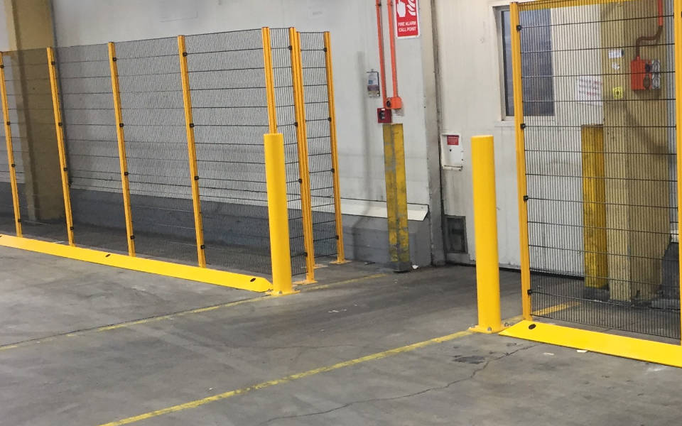 Warehouse Loading Bay – Pedestrian Walkway